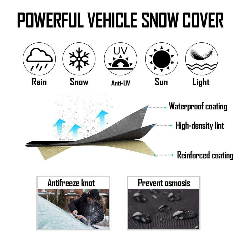 SnowStopper - Windshield Snow Cover